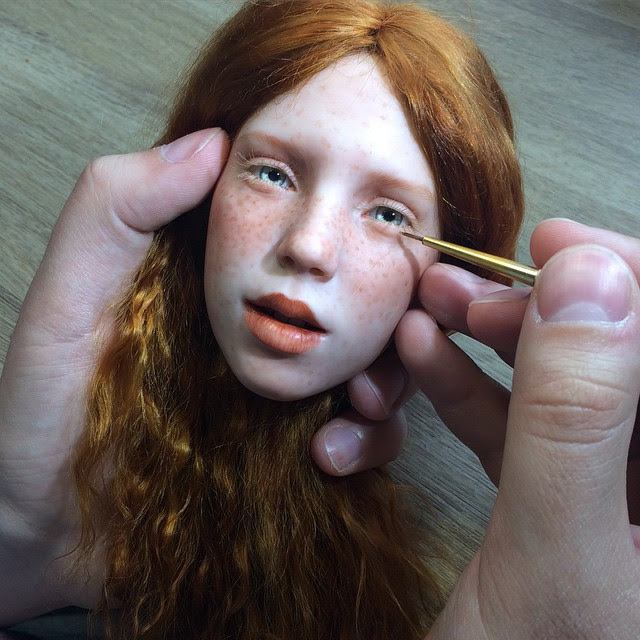 realistic-doll-faces-polymer-clay-michael-zajkov