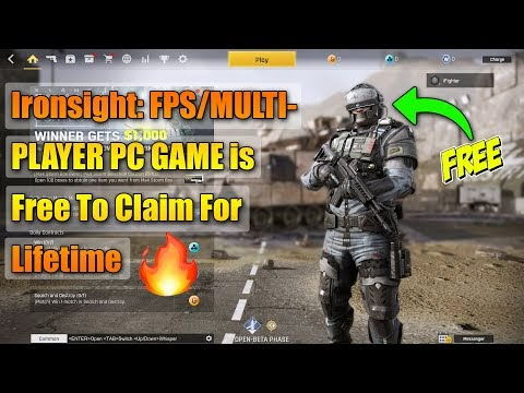 Ironsight: FPS/MULTIPLAYER PC GAME is Free To Claim For Lifetime😱
