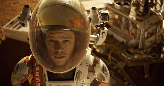 Astronauts again blast off at box office, 'The Martian' lands with $55 million debut