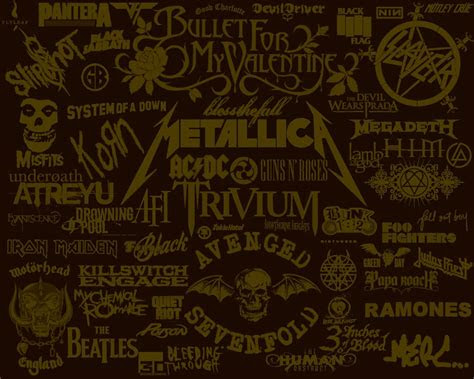 rock band wallpapers wallpaper cave