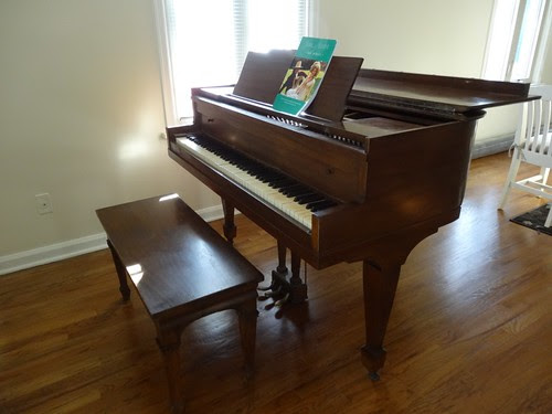 My Piano is home again!