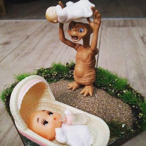 なにがなんだか。。 E.T何に驚いてんだか。。 #toyphotography #toys # ...