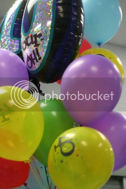 Michael's birthday,balloons