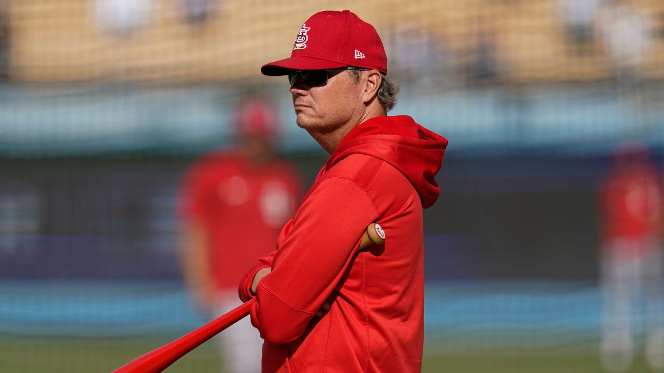 Mike Shildt fired as St. Louis Cardinals manager over 'philosophical differences'