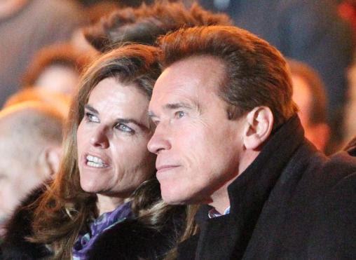 Maria Shriver and Arnold Schwarzenegger Pic