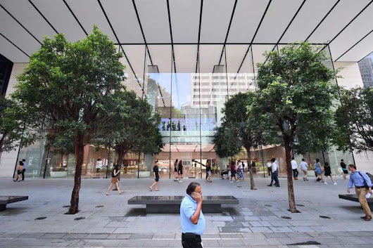 Apple Orchard Road in Singapore Officially Opens to the Public