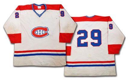 Montreal Canadiens 76-77 #29 jersey photo MontrealCanadiens76-7729jersey.jpg