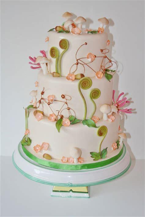 Wedding Cakes NY   Nature Custom Cake PV