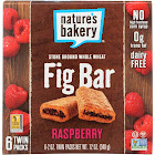 Nature's Bakery Fig Bars, Raspberry - 6 count, 12 oz box