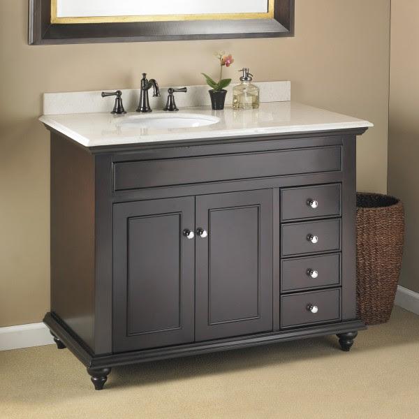 Mayfield 42 Single Sink Vanity Mission Hills Furniture