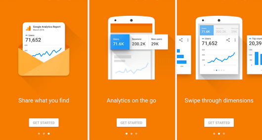 Google Analytics gets a facelift, lets you share reports