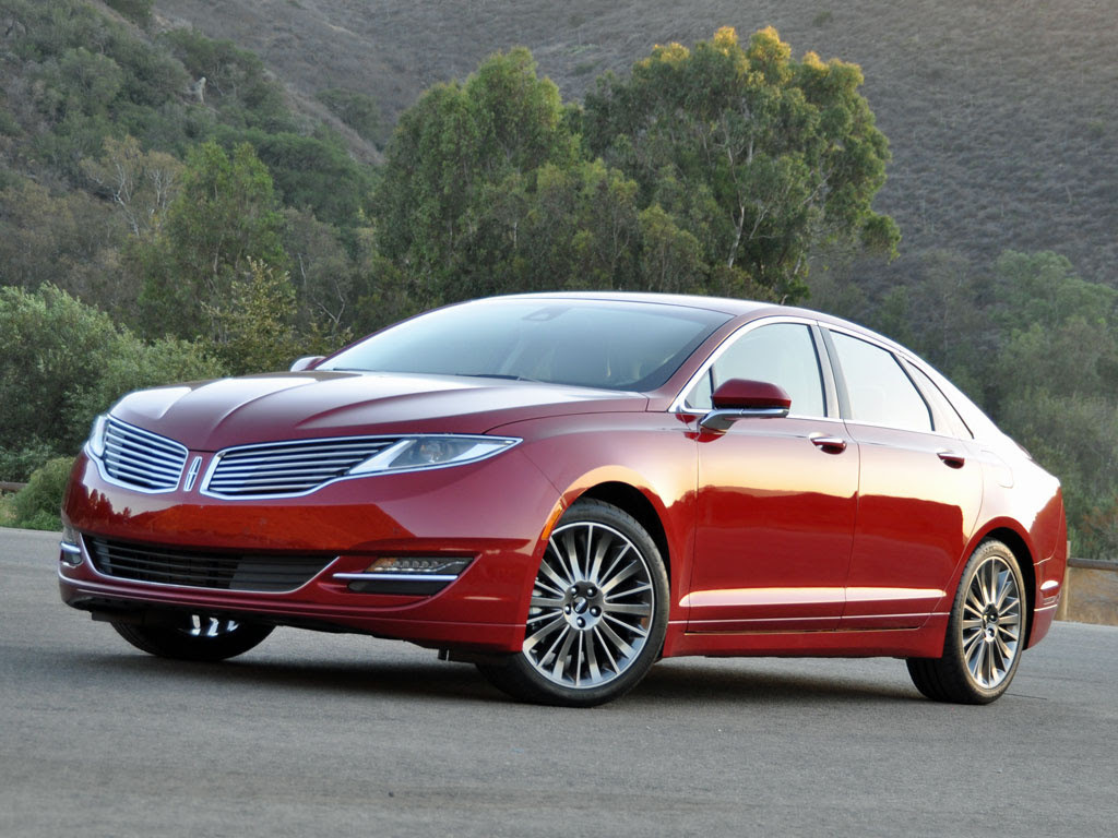 2014 Lincoln MKZ Reserve Package Summer Tire Handling Package Ruby Red