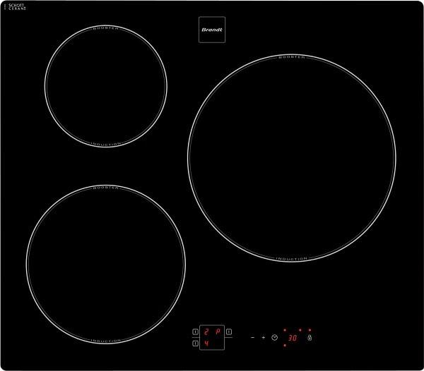 notice plaque induction brandt 3 feux. Black Bedroom Furniture Sets. Home Design Ideas