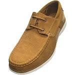Sedagatti Men's Casual Top Lace Mesh Deck Shoes