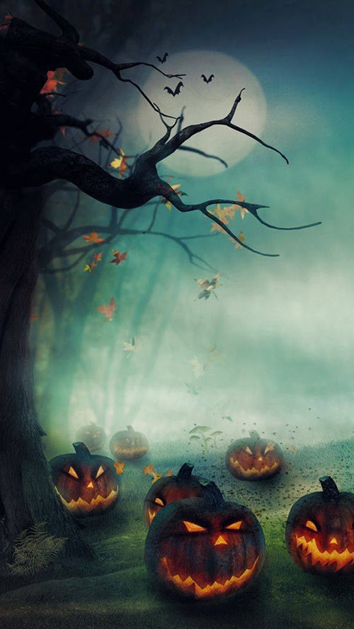 Free Halloween Wallpapers, Icons, Background Illustrations ...