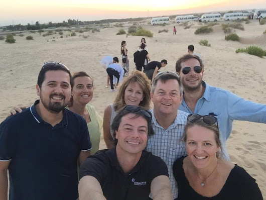 "Averill Gordon on Twitter: ""#globcom lecturers lost in Abu Dhabi desert @globcomProject """