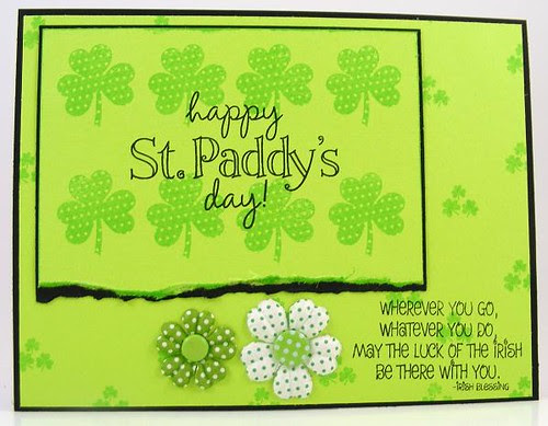 Happy Shamrock Day Card