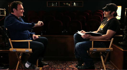 The Director's Chair with Robert Rodriguez: Interviewing Quentin Tarantino I+II - The Robert Rodriguez Archives