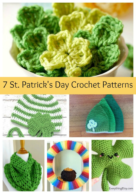 7 St. Patrick's Day Crochet Patterns - Free Designs - EverythingEtsy.com