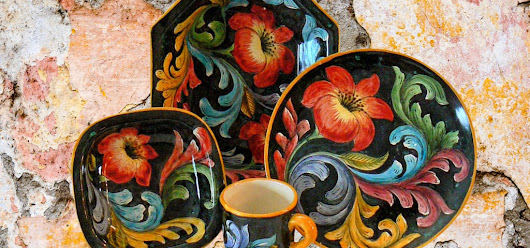 Mayolica & Majolica Pottery - Home & Table Sets
