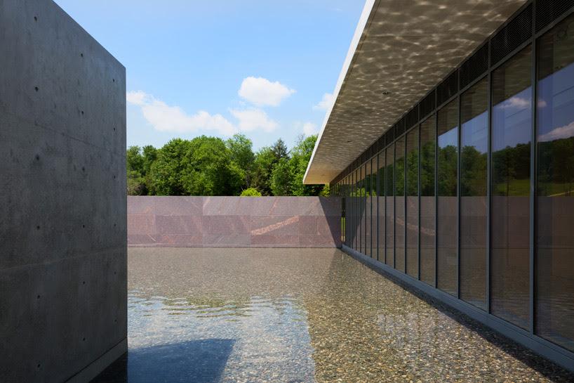 tadao ando expands the clark art institute with concrete ...