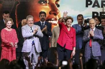 Nome da presidente para as eleições de outubro foi ratificado durante a abertura do 14º Encontro Nacional do partido (William Volcov/Estadão)