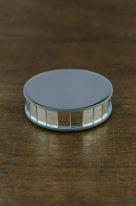 "4"" Mirror Riser Round Display"