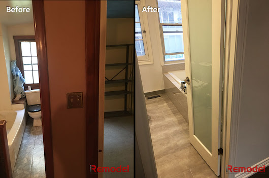 Home Renovations in Richmond Hill Before and After
