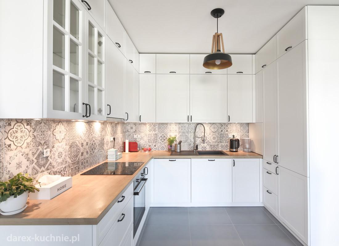 Otwarta Kuchnia Z Zabudową Do Sufitu Darex Meble Kuchenne