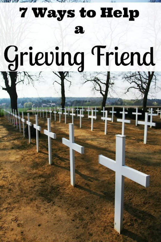 7 Ways to Help A Grieving Friend - An Alli Event