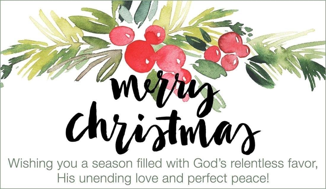 Christmas Card Personalized Sayings - Ucap Natal