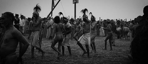 The Naga Sadhus - Shahi Snan Basant Panchami Mah Kumbh 15 Feb 2013 Allahabad by firoze shakir photographerno1
