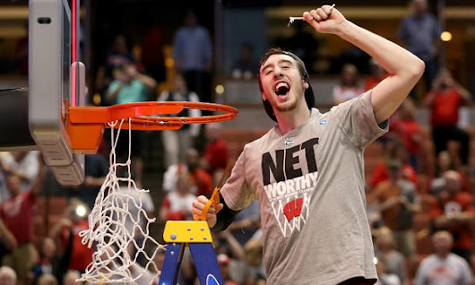 Wisconsin's Frank Kaminsky a tall order on the court and off the cuff