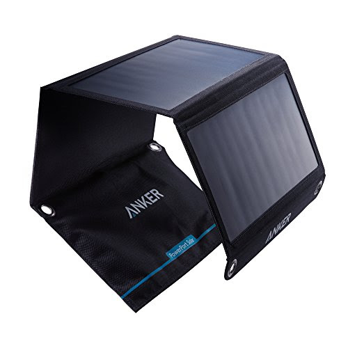 Anker 21W Dual USB Solar Charger, PowerPort Solar for iPhone 7 / 6s / Plus, iPad Pro / Air 2 / mini, Galaxy S7 / S6 / Edge / Plus, Note 5 / 4, LG, Nexus, HTC and More – Solar LEDs • Buy Solar LED Lights