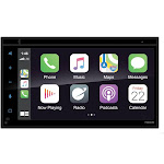 Planet P9900CPA Audio 6.5 in. Double-DIN RCV Carplay Android Auto DVD