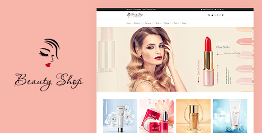 Beauty Store - Cosmetics and Fashion Beauty Shopify Theme