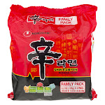 (4 Pack) Nongshim Shin Ramyun Gourmet Spicy Noodle Soup, 4.2 oz, Size: 16.93 fl oz