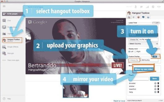 Hangout Magix: New Tool Lets You Add Branding to Google Hangouts