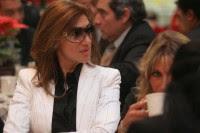 La periodista de Televisa, Adela Micha.