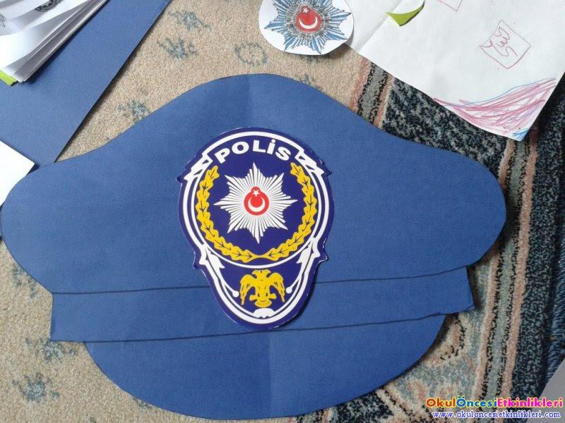 Beautiful Okul Oncesi Polis Armasi Boyama Boyama