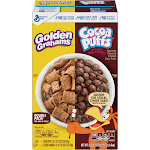General Mills Cereal, Golden Grahams, Cocoa Puffs, Double Pack! - 50.5 oz