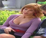 Daniela Galli sexy na novela Ribeirão do Tempo