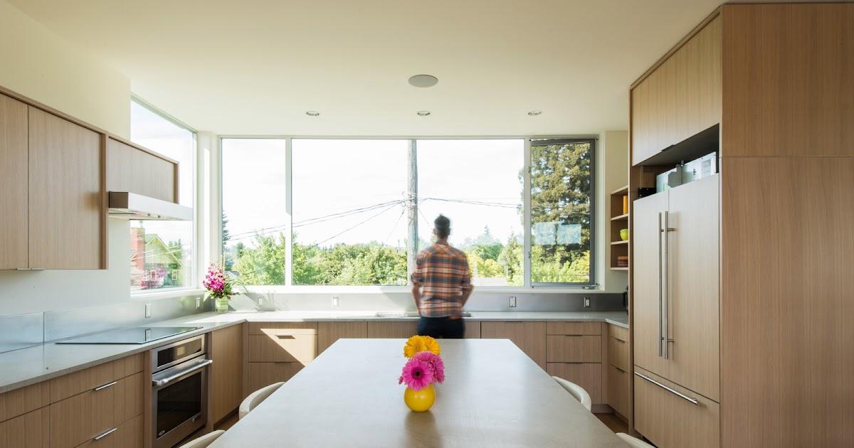 Gourmet Kitchen Design Open To Great Room