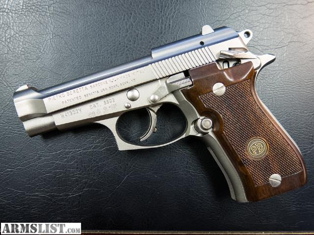 ARMSLIST - For Sale: Beretta Cheetah 84FS Nickel Made In Italy - Beautiful and Hard to find