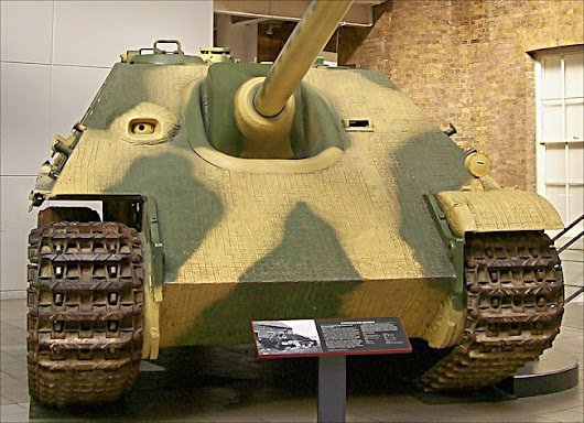 Jagdpanzer V Tank Destroyer at the Imperial War Museum London