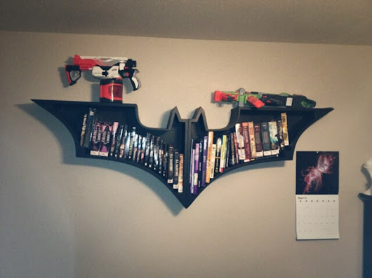 Batman Logo Bookshelf