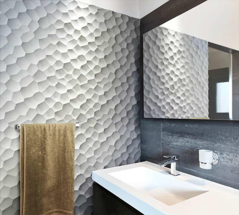 25 Spectacular 3D Wall Tile Designs To Boost Depth and Texture homesthetics ideas (25)