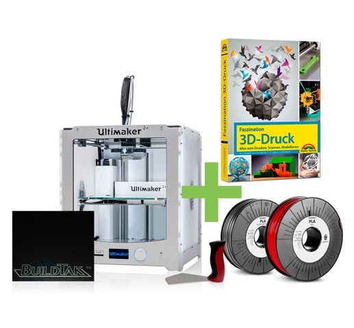 DEAL: Ultimaker 2+ 3D-Drucker STARTER KIT | 2199,00 EUR