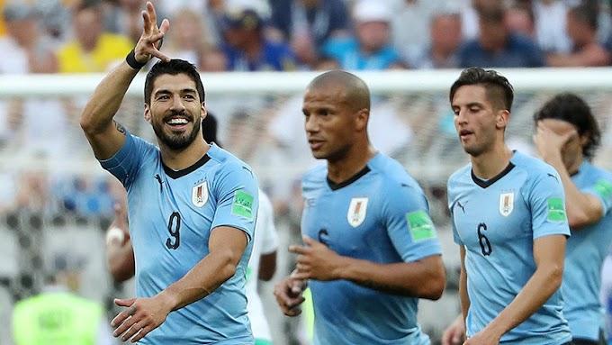 Uruguay pasa a octavos de final y sepulta las esperanzas de Arabia Saudita