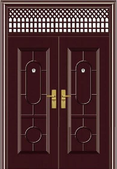Main Entrance Double Door Design (BG-S9084) Photos & Pictures